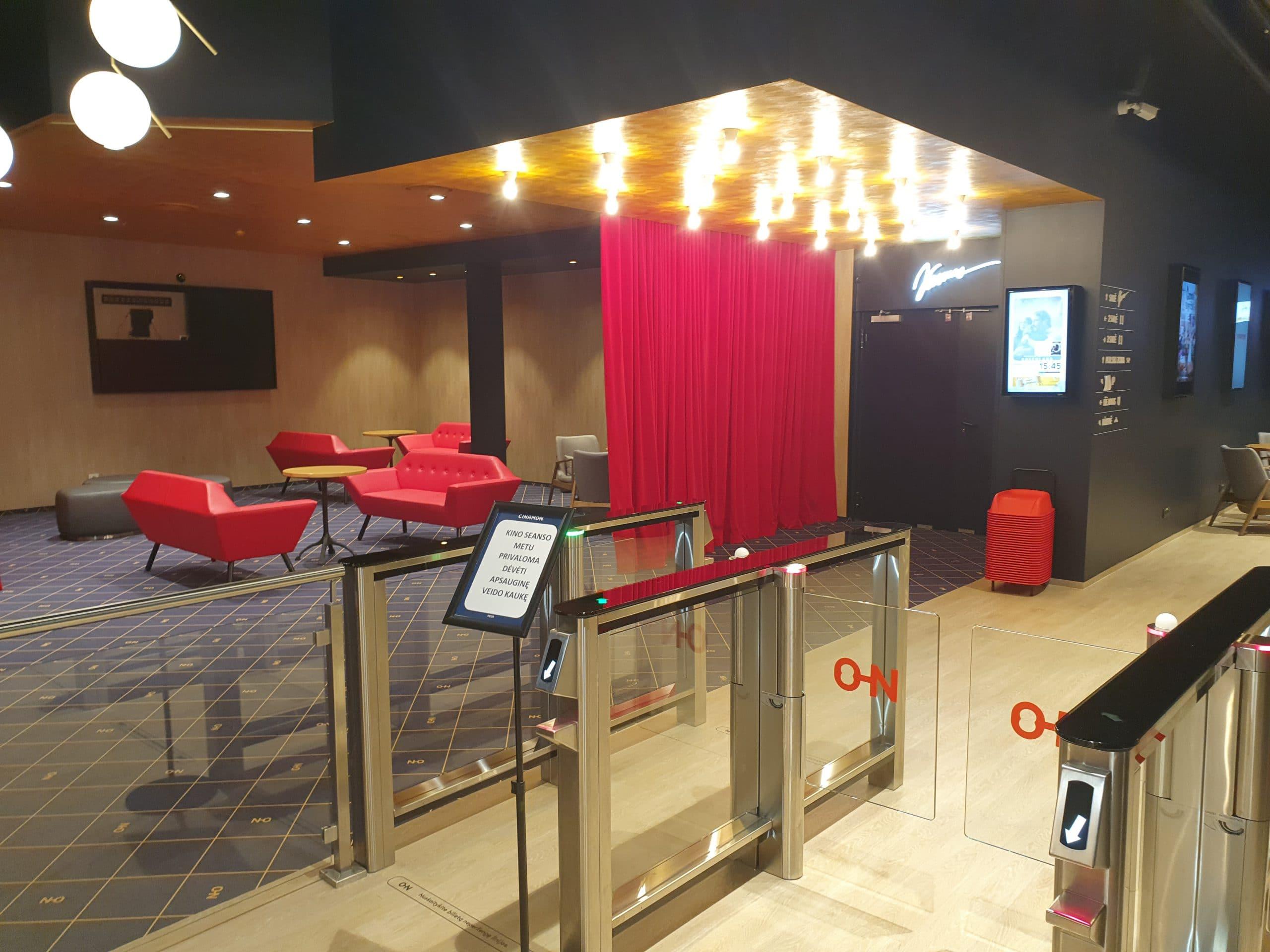 Kino teatro Cinamon rekonstrukcija