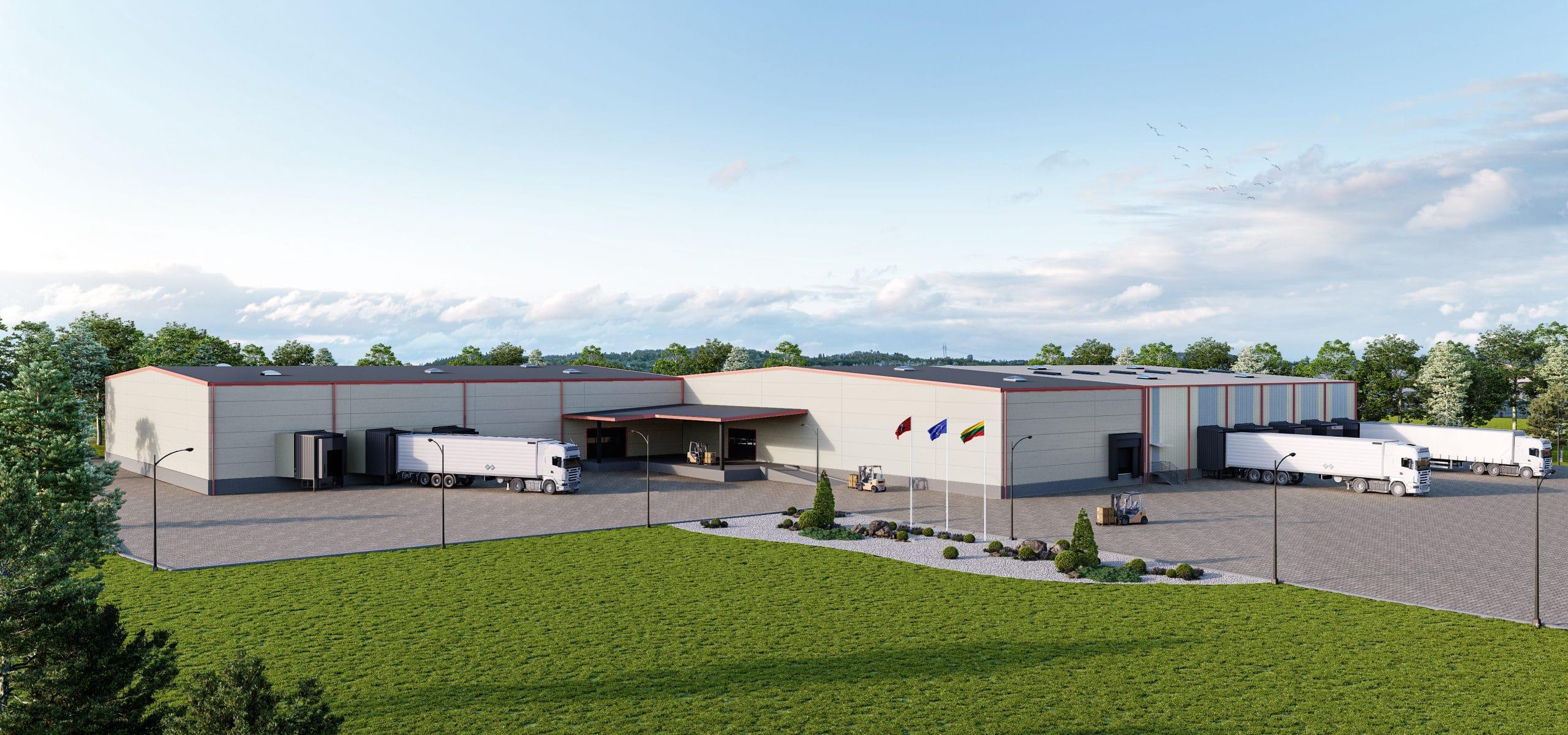 Logistikos centro išplėtimas Vilniaus rajone